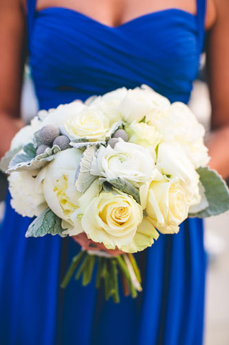 winter white wedding bouquet in st. louis | Events Luxe weddings