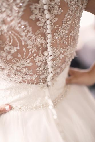 Intricate wedding dress | St. Louis wedding planning by Events Luxe