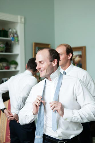groom getting ready for wedding | STL Weddings by Events Luxe