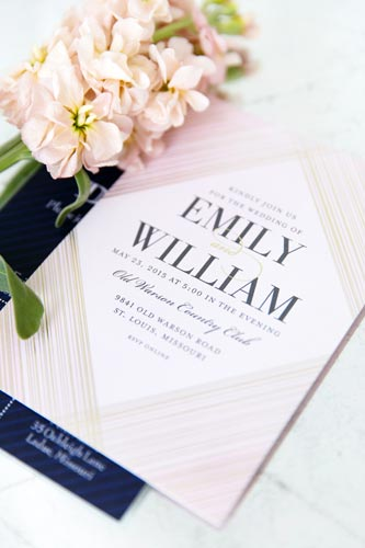 Wedding Programs at St. Louis Weddings by Events Luxe