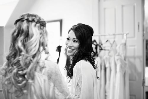 Bride awaiting St. Louis wedding by Events Luxe