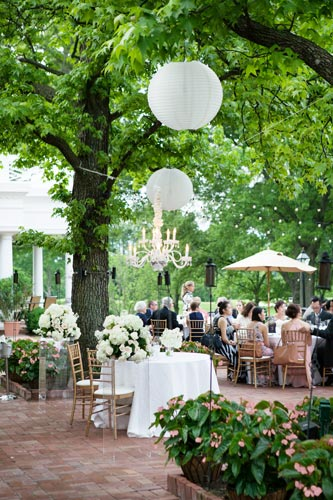 Table settings at Old Warson Country Club | St. Louis Weddings by Events Luxe