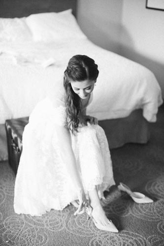 Bride Getting Ready | Weddings by Events Luxe