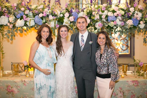 Bride & Groom Family at 9th Street Abbey   Events Luxe Weddings
