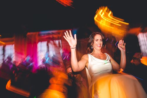 Bride Dancing at Caramel Room Wedding | Events Luxe Weddings