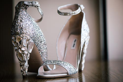 Bride Shoe Photo | Events Luxe Weddings
