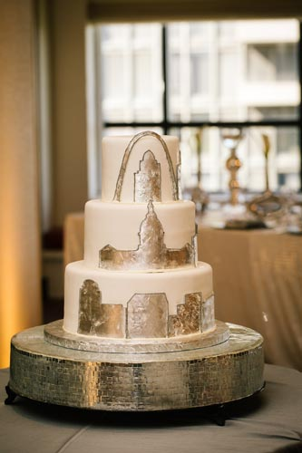 Gateway Arch Cake | Events Luxe Weddings