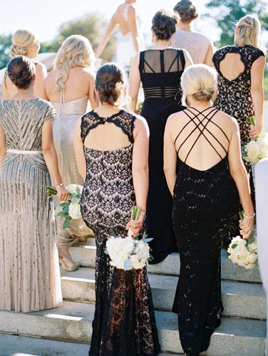 Wedding Party at Old Cathedral St Louis | Events Luxe Weddings