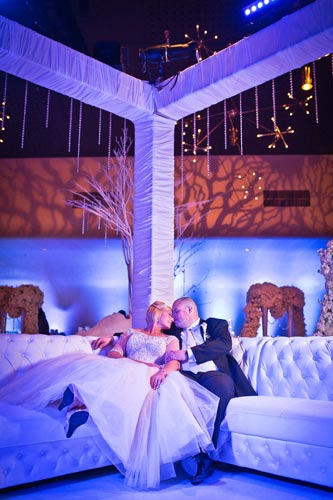 Bride & Groom at Khorassan Ballroom | Events Luxe Wedding