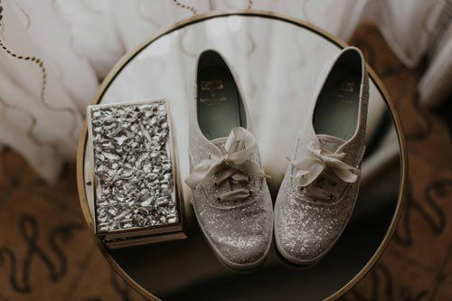 Comfy bridal shoes | Events Luxe Weddings