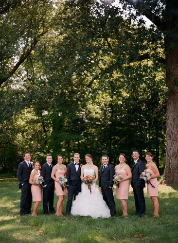Bridal Party at Forest Park | Events Luxe Weddings
