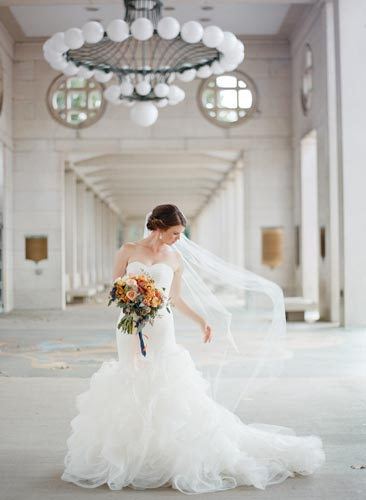 Bride at Forest Park | Events Luxe Weddings