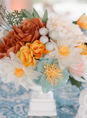Paper Flower Bouquet | Events Luxe Weddings
