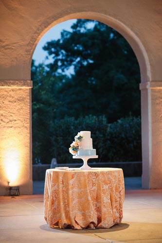 Cake at World's Fair Pavilion | Events Luxe Weddings