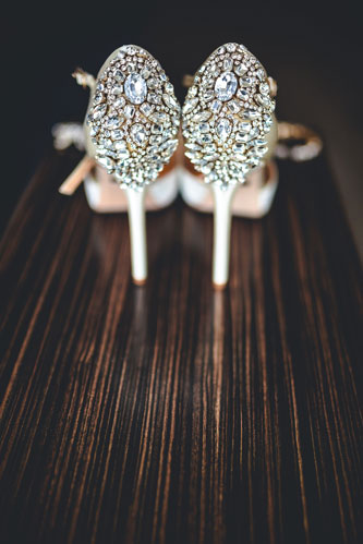 wedding shoe photo | Events Luxe Weddings