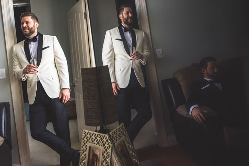 Groom getting ready | Events Luxe Wedding