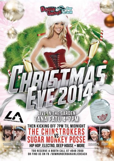 Christmas Eve 2014 @ Down Under Bar & Grill | Airlie Beach ...