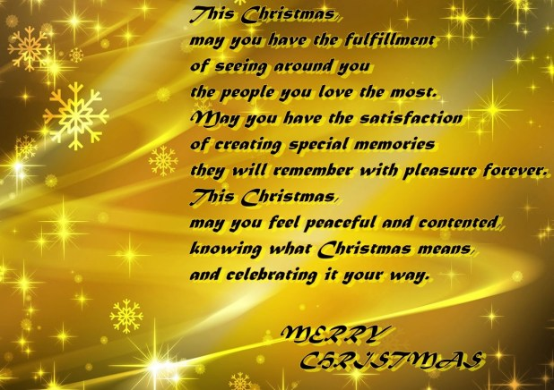 Beautiful christmas greetings card images 2016 free download beautiful christmas greeting golden words 2016 m4hsunfo