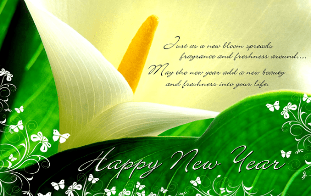 Beautiful New Year Messages & Images free download - Events Today