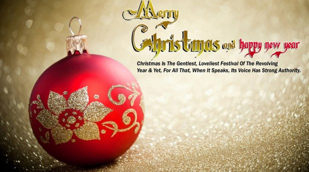 merry christmas wishes 2016 image