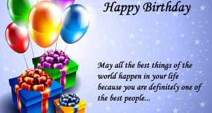best wishes for birthday