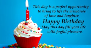birthday lovely message
