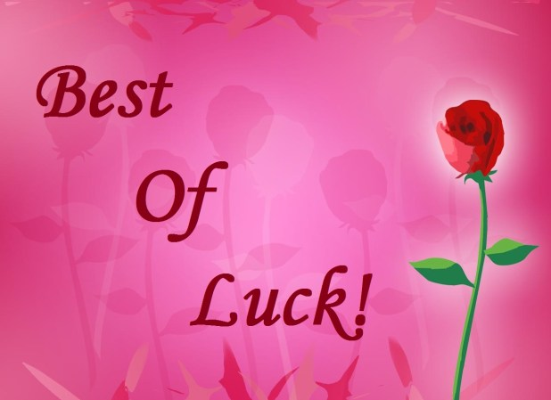 Cute Sweet Good Luck Wishes 2017 Hd Images Free Download