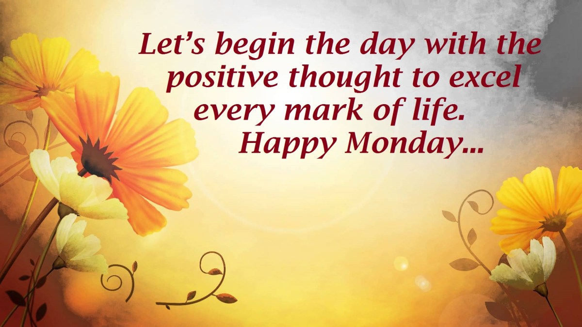 Beautiful Lovely Happy Monday Wishes Messages 2017