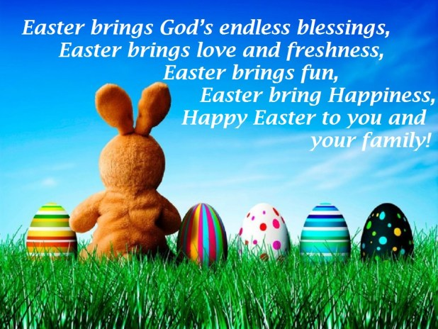 Lovely easter wishes greetings messages 2017 images m4hsunfo