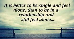 image for being single quote