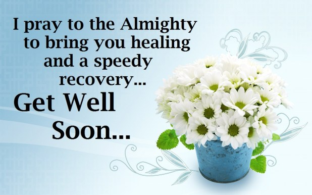 Get Well Soon Messages, Wishes & Cards 2017 Free Download