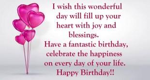 happy birthday wishes 2017 image
