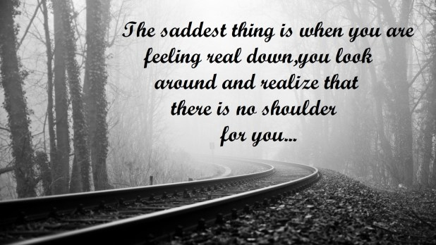 Heart Touching Sad Life Quotes Images Pictures