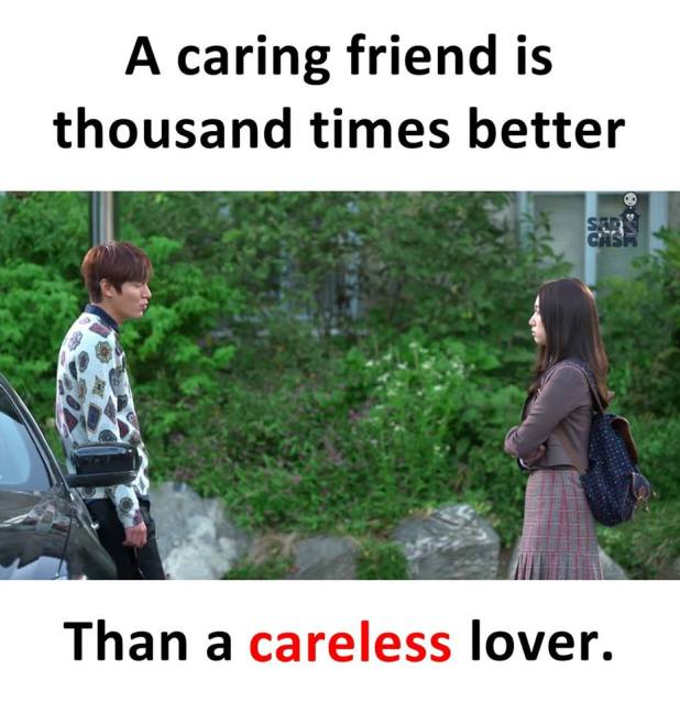 A Caring Friend is better than careless lover image