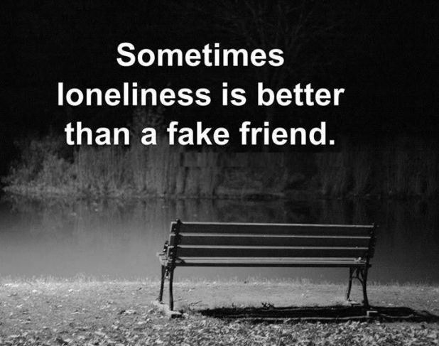 Fake Friends Quotes Alone Quotes