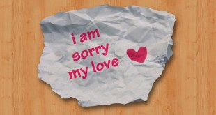 i am sorry my love image