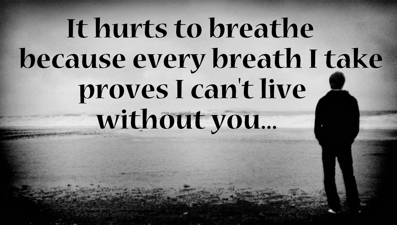 Heart Touching Love Pain Quotes Images