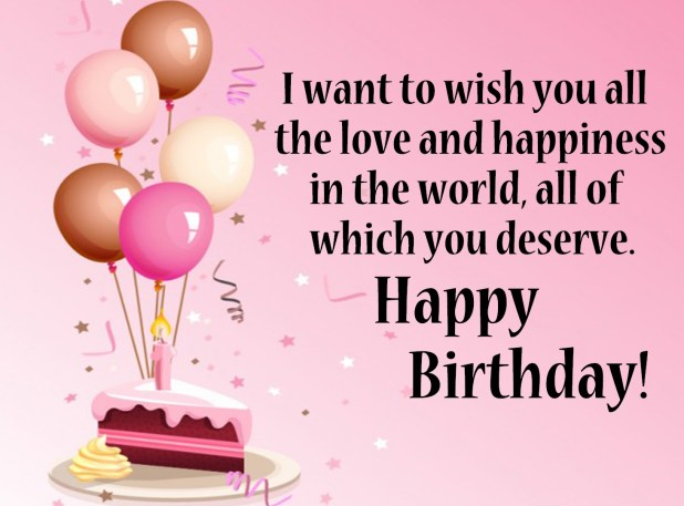 Happy Birthday Wishes Cards 2018