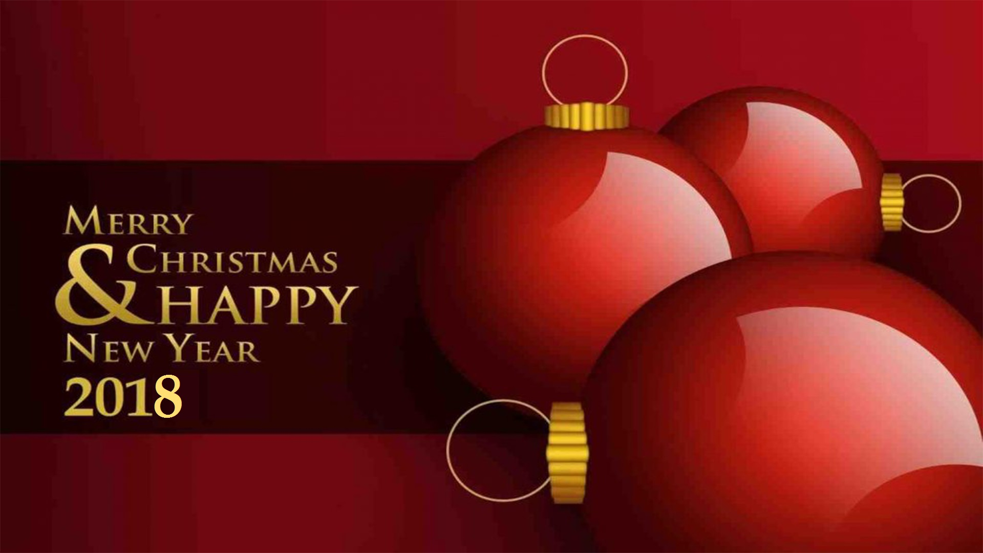merry christmas happy new year 2018 images hd pictures