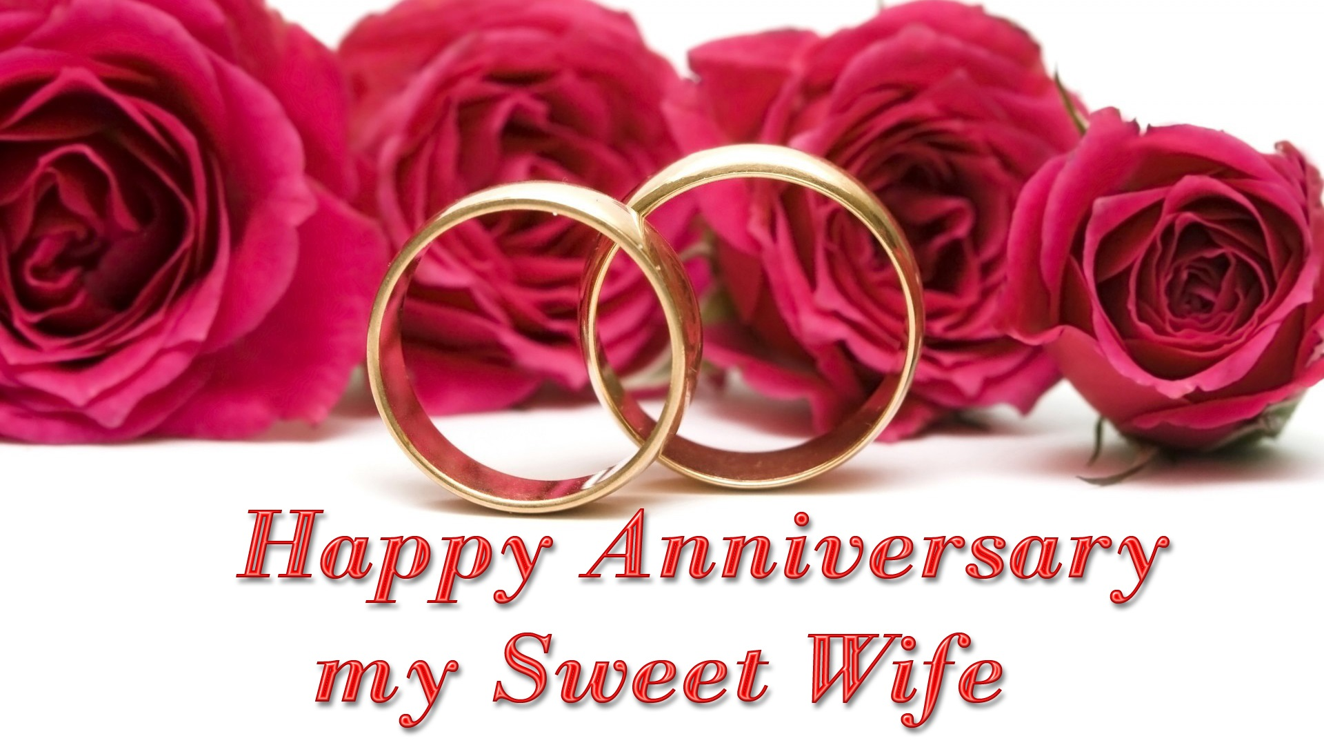 Wedding Anniversary Wishes For Wife Images 2018 Free Download