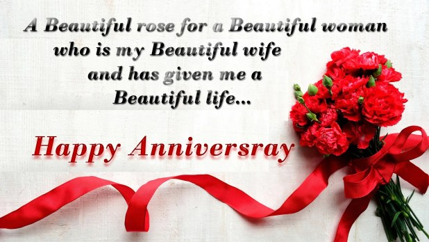 image for anniversary wishes for wife 2018