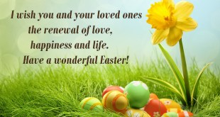 wishes for easter image 2018