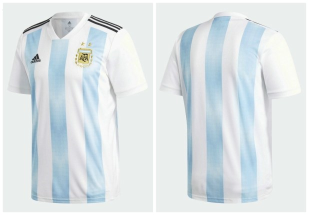 d90f409b7e6 Argentina 2018 FIFA World Cup Home kit official