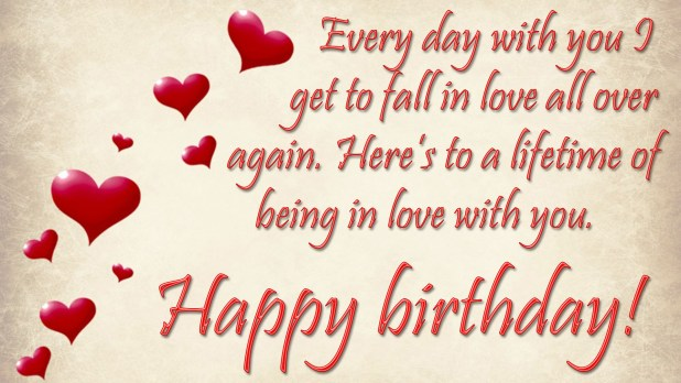 Happy Birthday Wishes For Wife Image