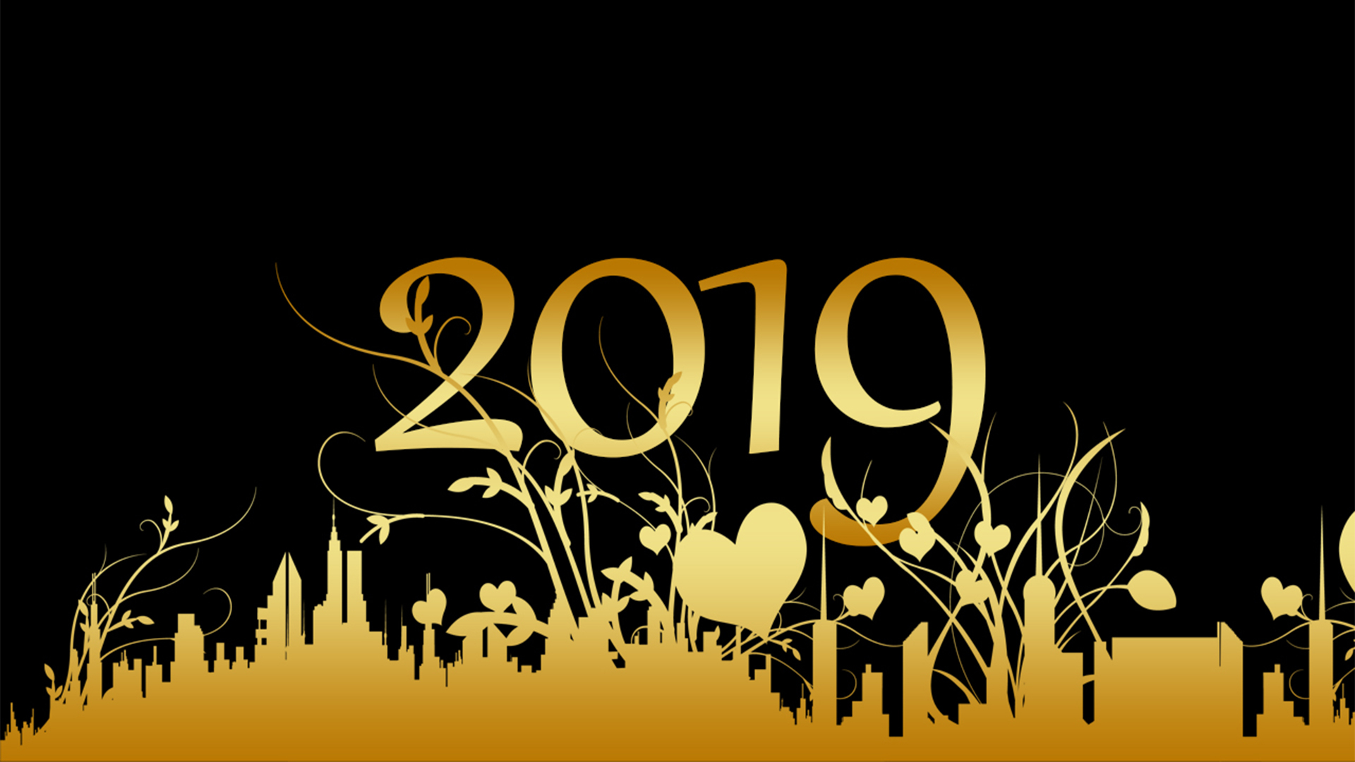 Happy New Year 2019 Wallpapers Desktop Backgrounds