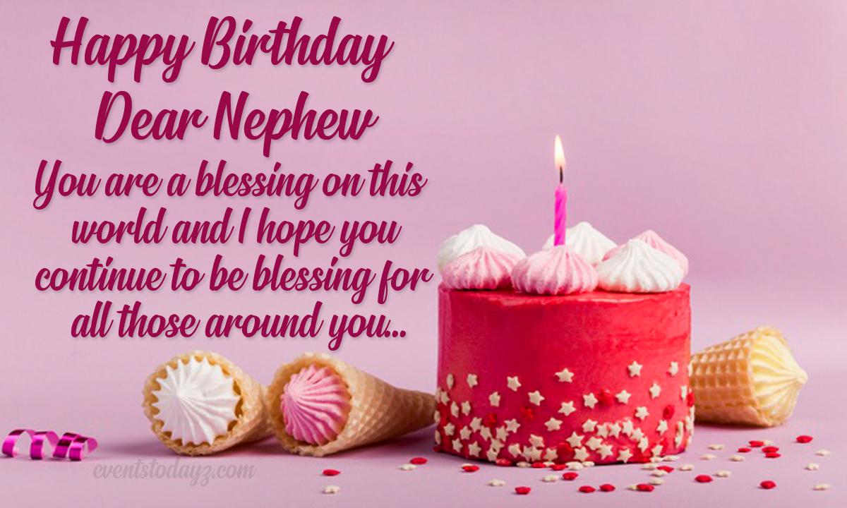 Happy Birthday Nephew Birthday Wishes For Nephew