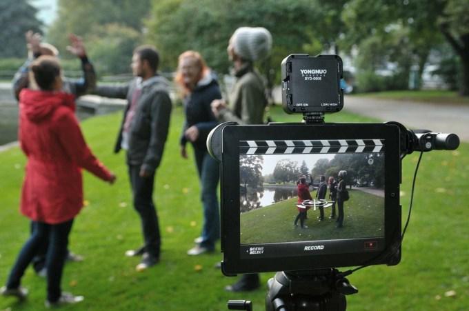 Riga Team Building: Film Festival - Movie Video Clips Shooting
