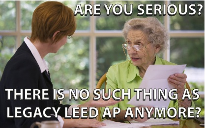 Legacy LEED AP is Now LEED AP without Specialty