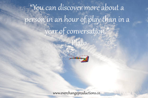 "Need some motivation to start your week off? Just remember: """"You can discover more about a person in an hour of play than in a year of conversation."" - Plato"