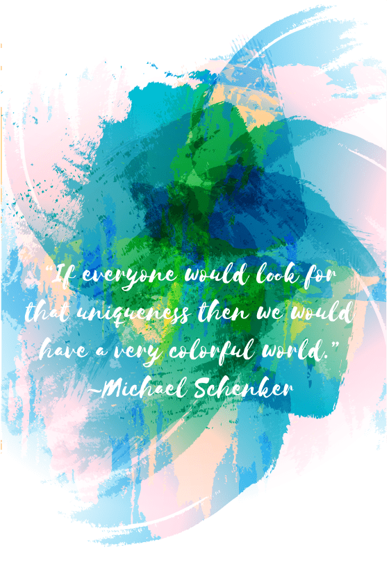 "Need some motivation to start your week off? Just remember, ""If everyone would look for that uniqueness then we would have a very wonderful world. "" -Michael Schenker"